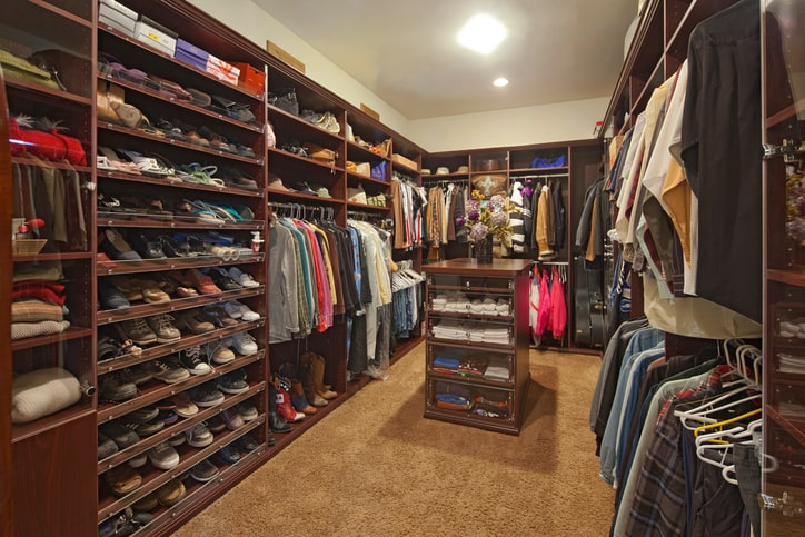 clean organized closet More Space Place Hilton Head