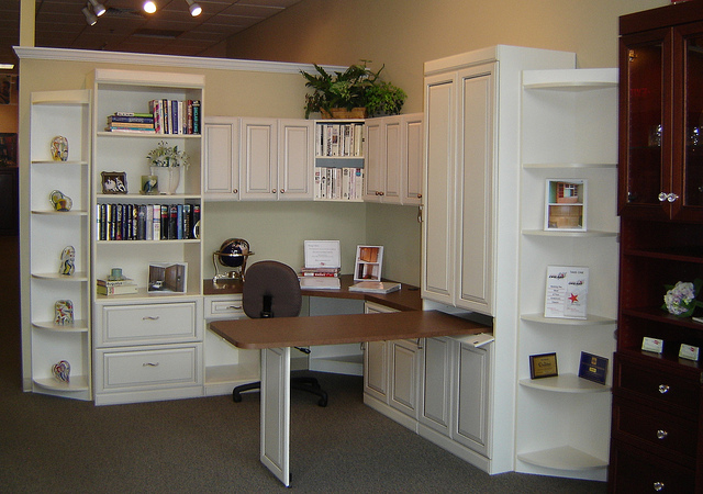 Custom home office Houston