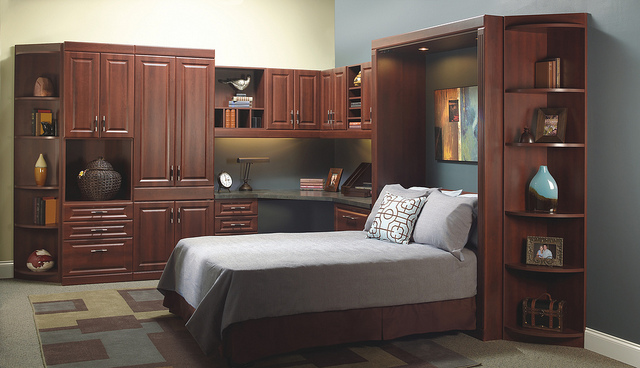 murphy bed home office Houston