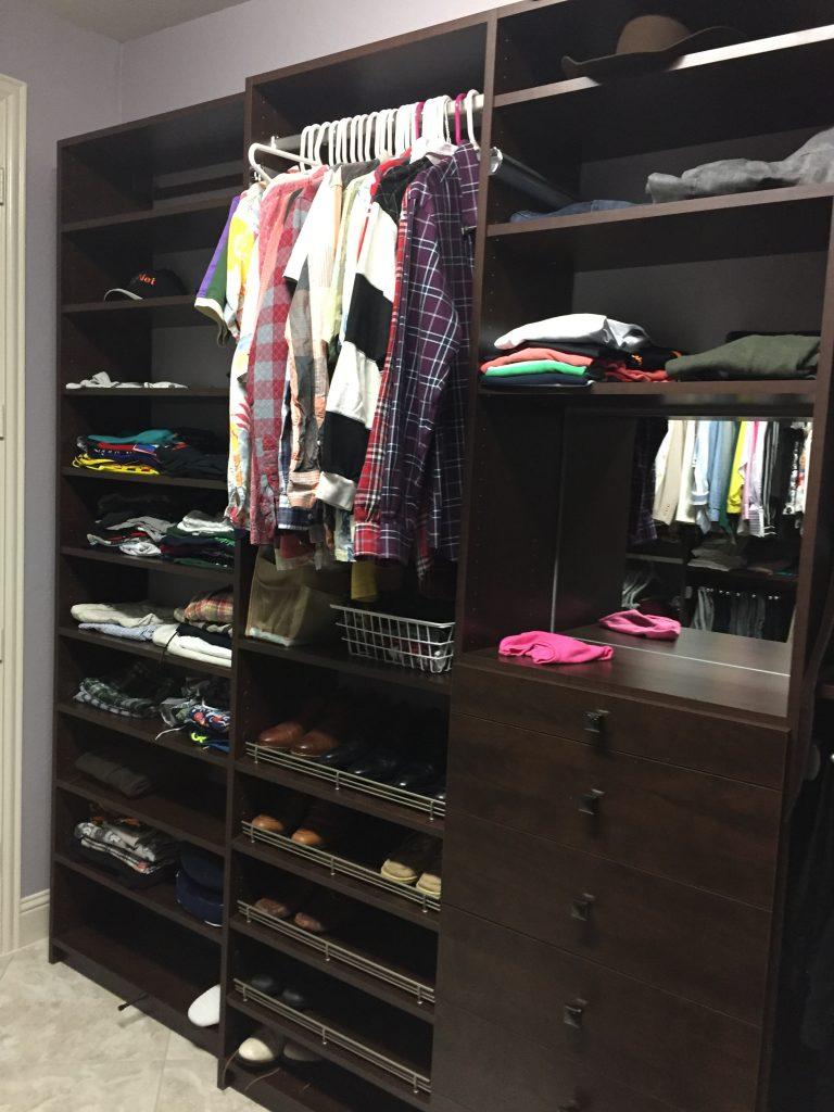 Cypress custom closet