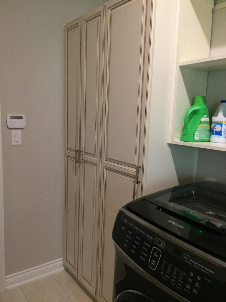 laundry area storage system Houston