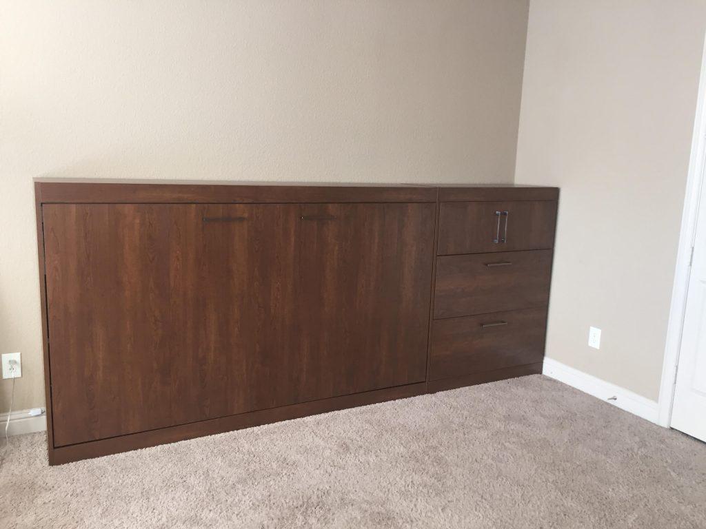 Houston panel bed