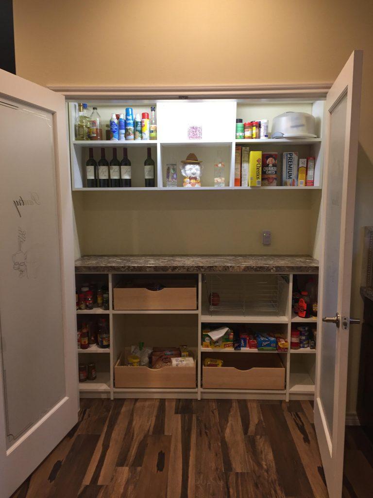custom pantry storage - Houston, TX