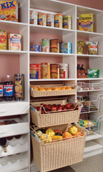 Pantry Racks and Pantry Cabinet Storage