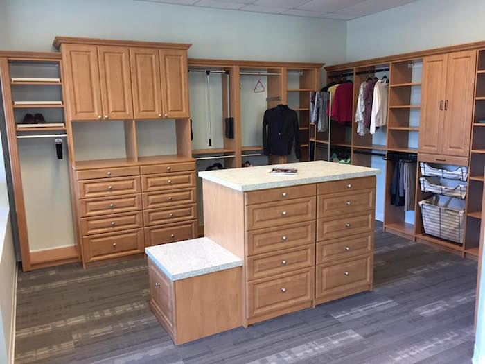 Custom closet Charleston showroom