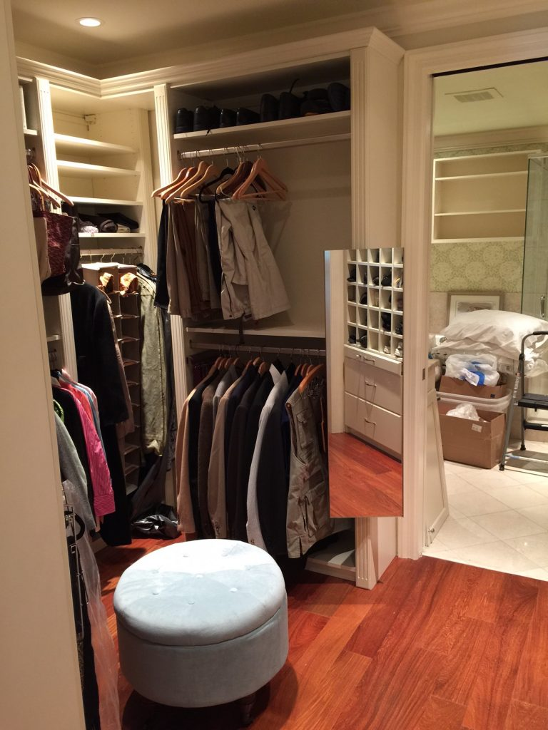 Pullout Mirror In Downtown Charleston Custom Closet