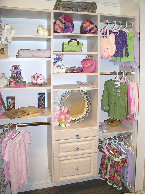 Child's custom closet Charleston