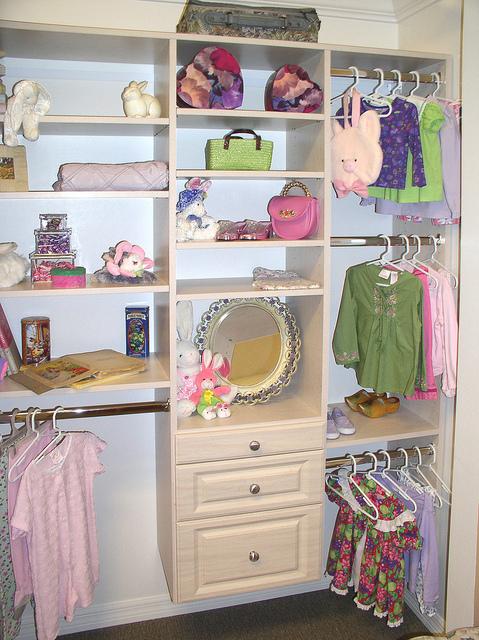 Child's custom closet Charleston