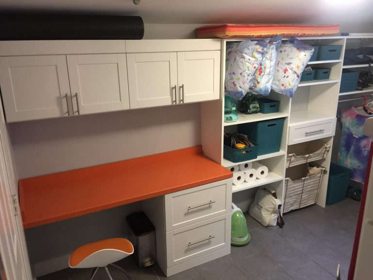 Laundry and office storage mount pleasant