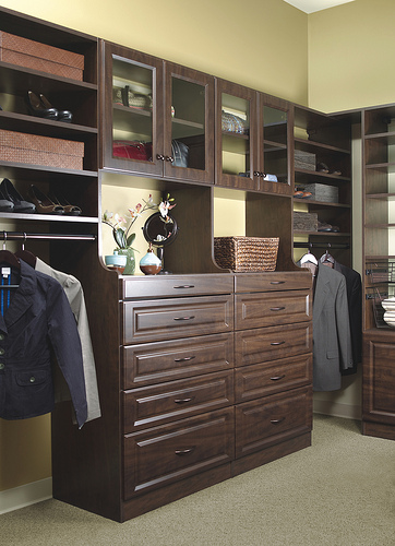 Custom closet and drawers in Myrtle Beach
