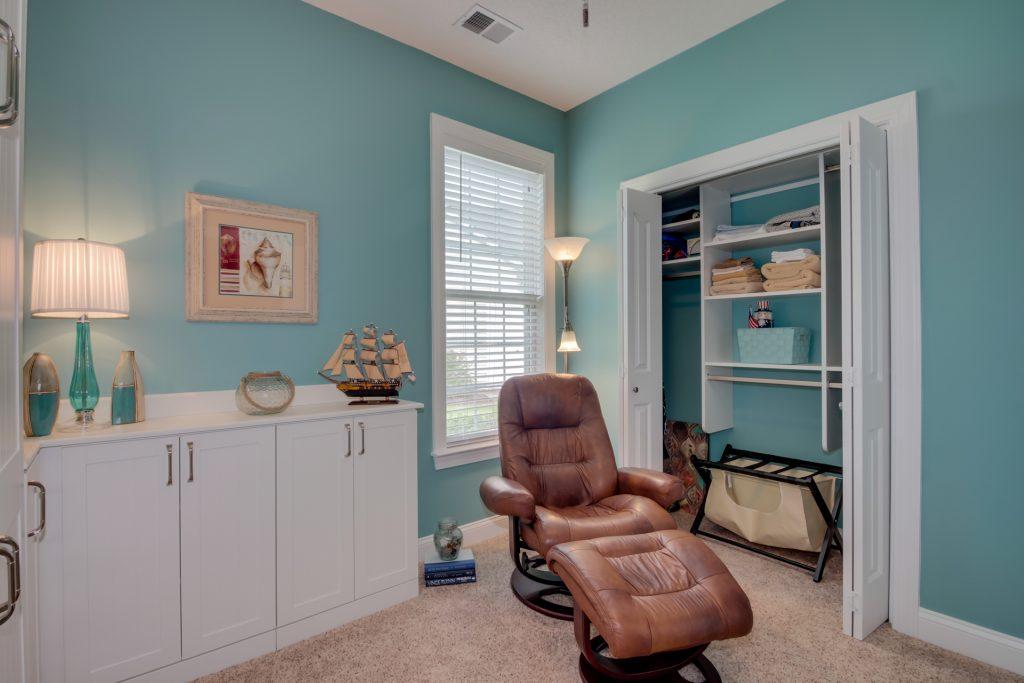 Reach-in custom closet project Myrtle Beach