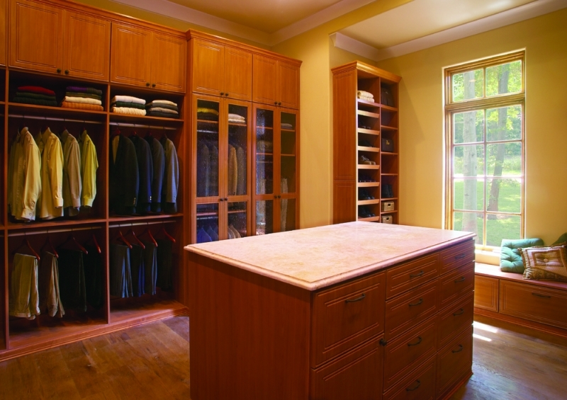 Custom Closet With Island Myrtle Beach