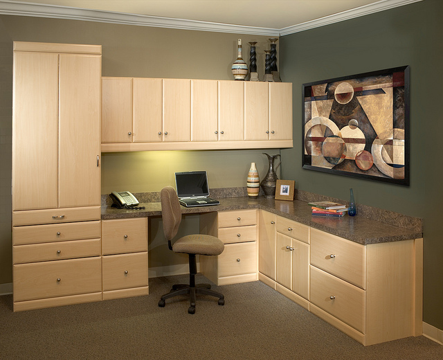 Built-in home office in Myrtle Beach, SC