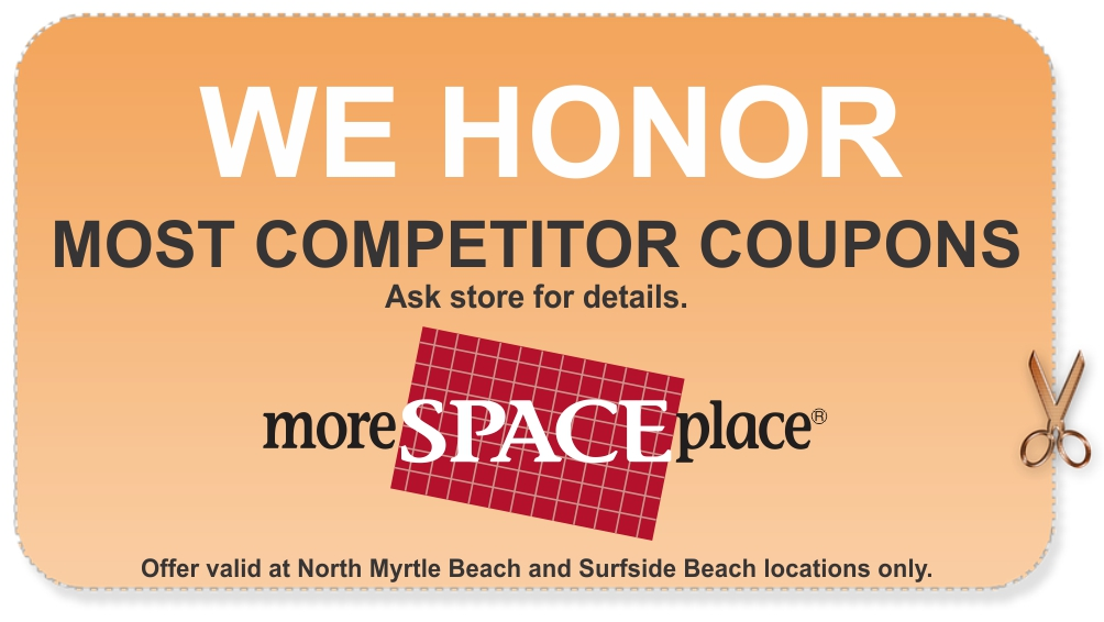 We Honor Competitor Coupons