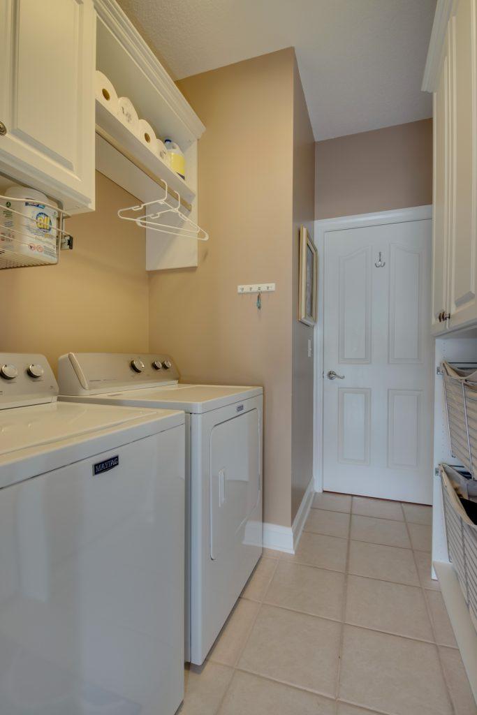Organized Myrtle Beach laundry room