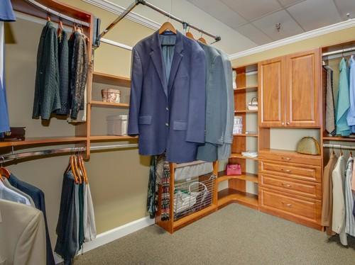 Myrtle Beach custom closet wardrobe lift