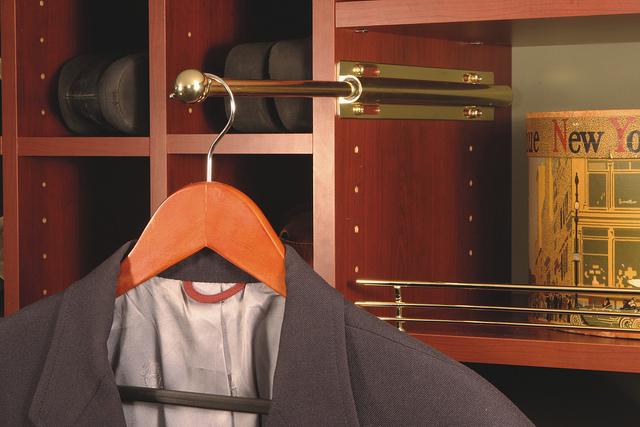 Valet rod in closet system myrtle beach
