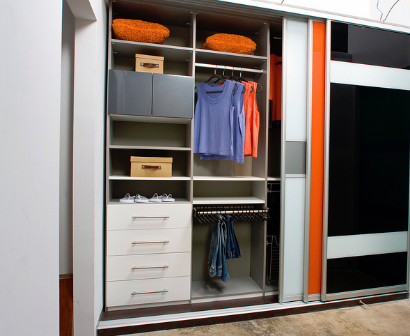 Modern Reach-in closet Myrtle Beach