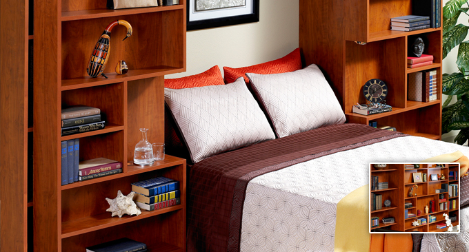 Jefferson library bookcase bed Myrtle Beach