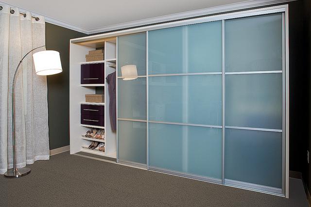 Modern reach-in myrtle beach custom closet