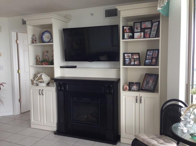 custom media center cabinets Myrtle Beach