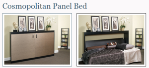 More Space Place Cosmopolitan Panel Bed
