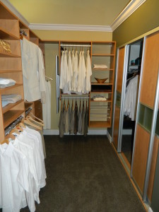 inexpensive custom closets