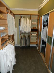 inexpensive custom closets
