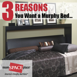3 Reasons Murphy Bed