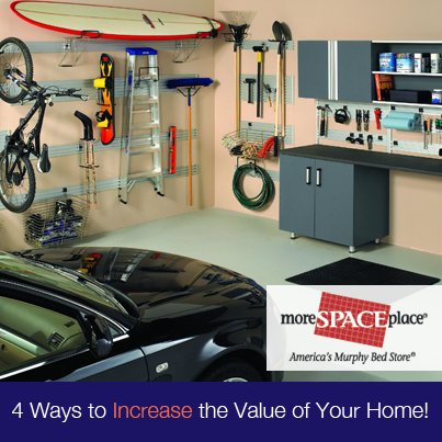 Remodel your home more space place for Increase value of home