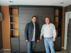 Peter Shoularis and Keith Beliar