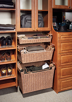 Closet Wicker Baskets