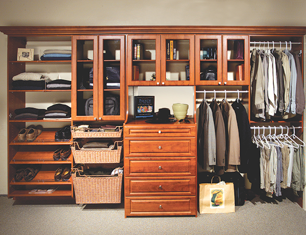 Custom Closet Systems Improve Life For The Modern Man
