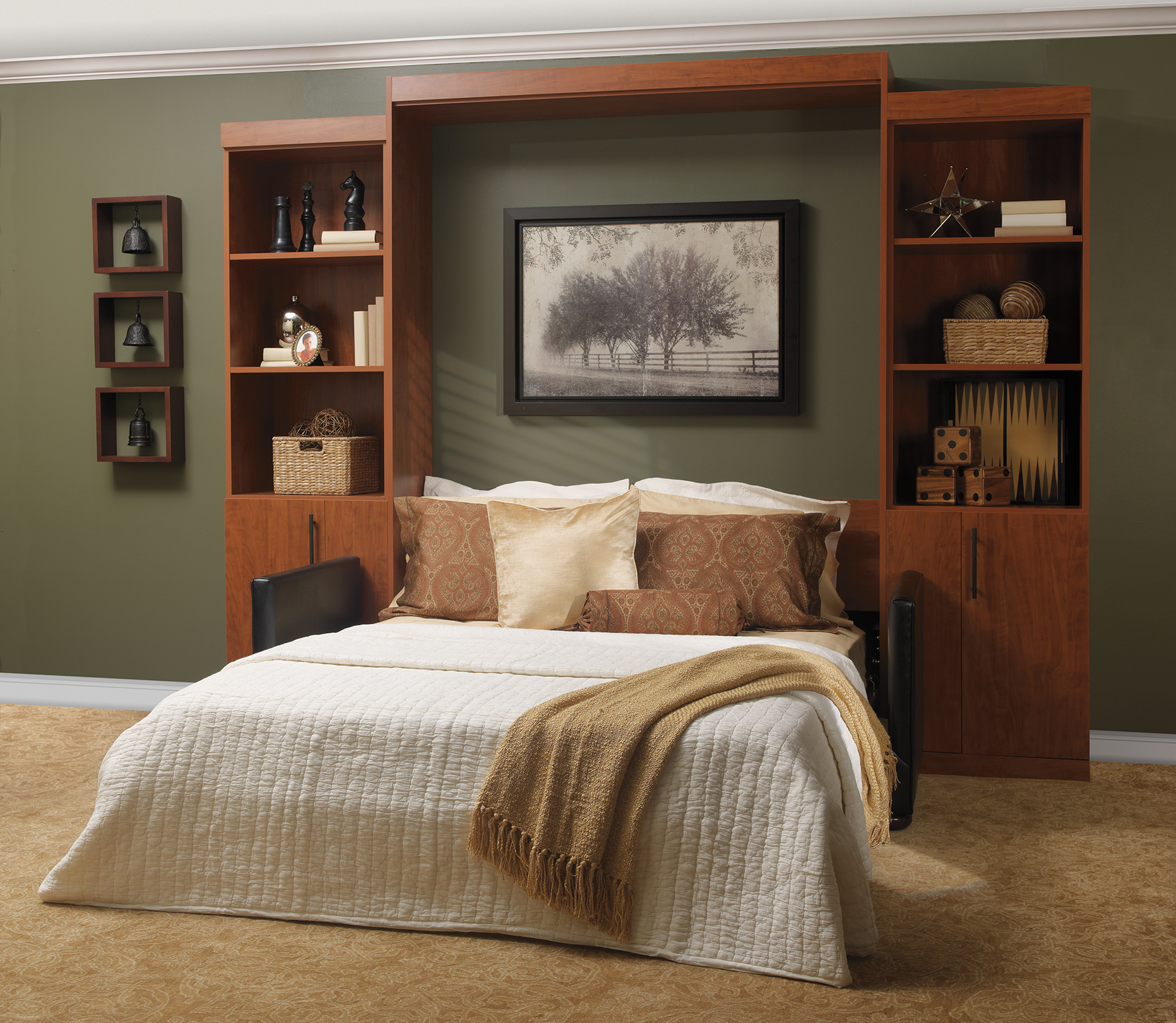 murphy bed modern murphy beds folding beds murphy wall bed panel beds library beds. Black Bedroom Furniture Sets. Home Design Ideas