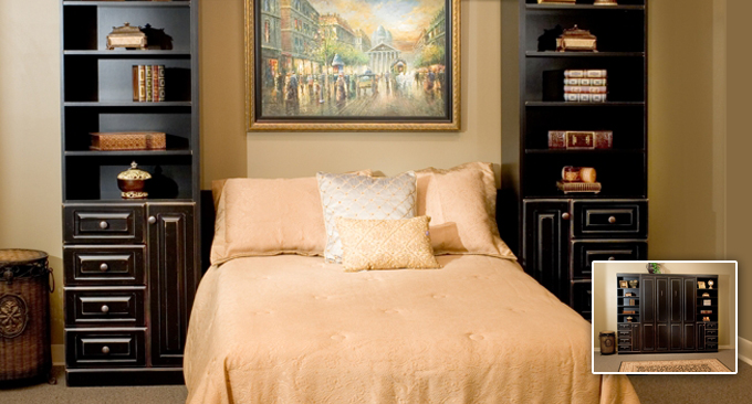 Park avenue panel wall bed