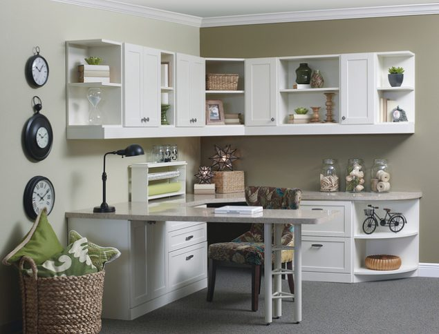 Custom Home Office from More Space Place