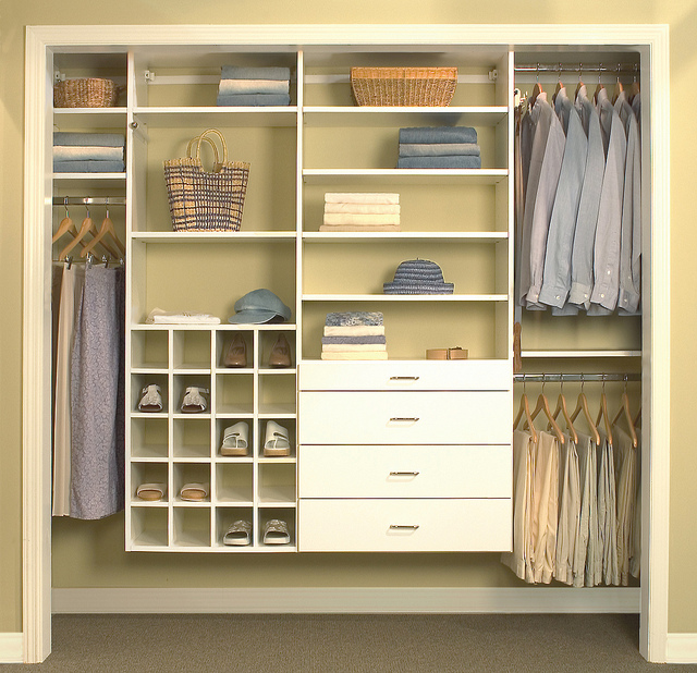 Custom Closet with More Space Place