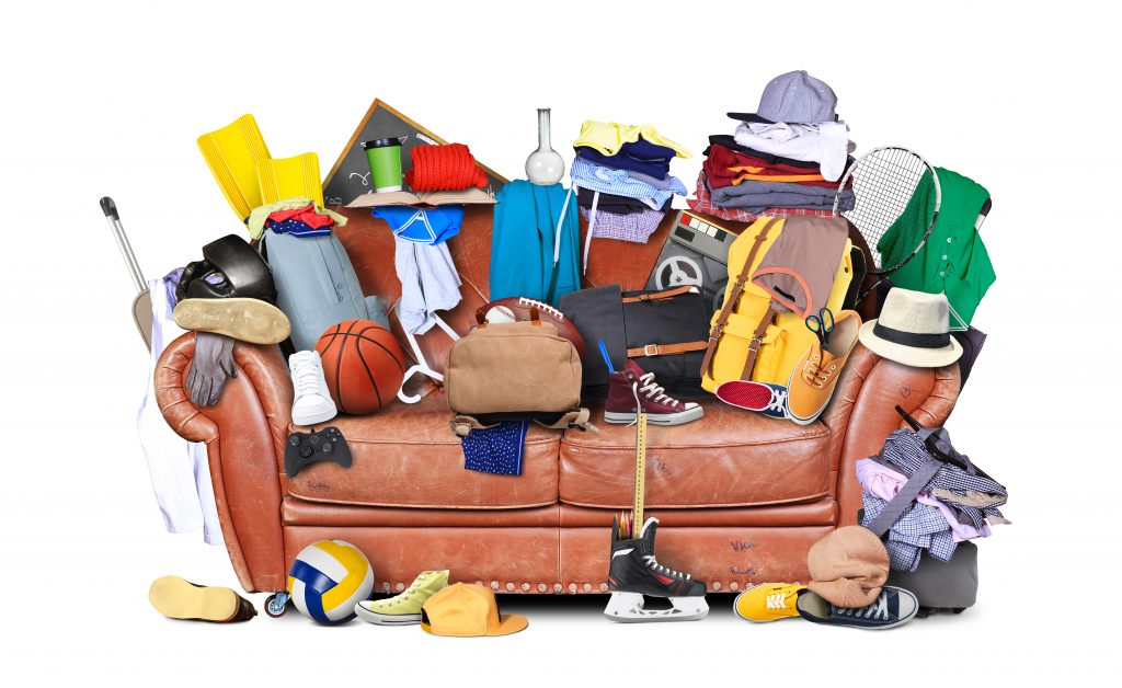 Organize cluttered home