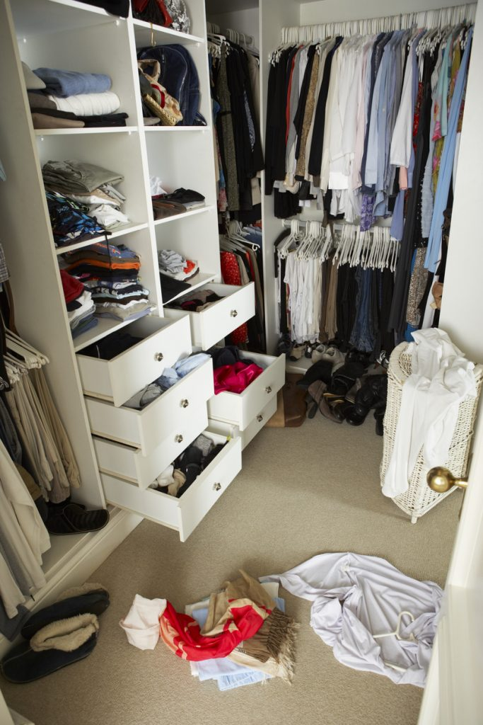 Shared Closet Organization