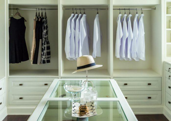 White Custom Closet