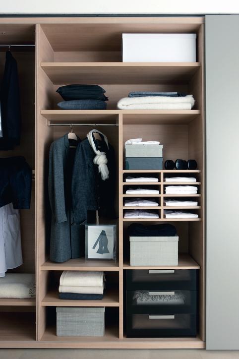 Wooden Custom Closet