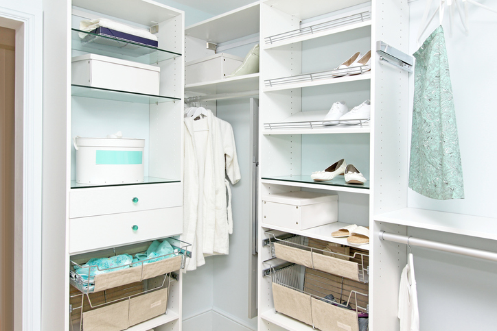 Modern Closet Walk In Design Organization