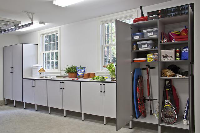 Custom Garage Storage Units