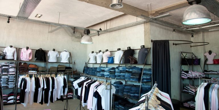 apparel organized by clothing items