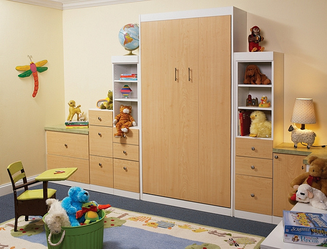 Children's Murphy Bed More Space Place