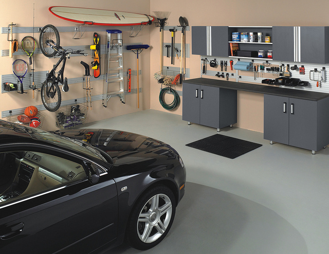 Organize Garage custom solutions