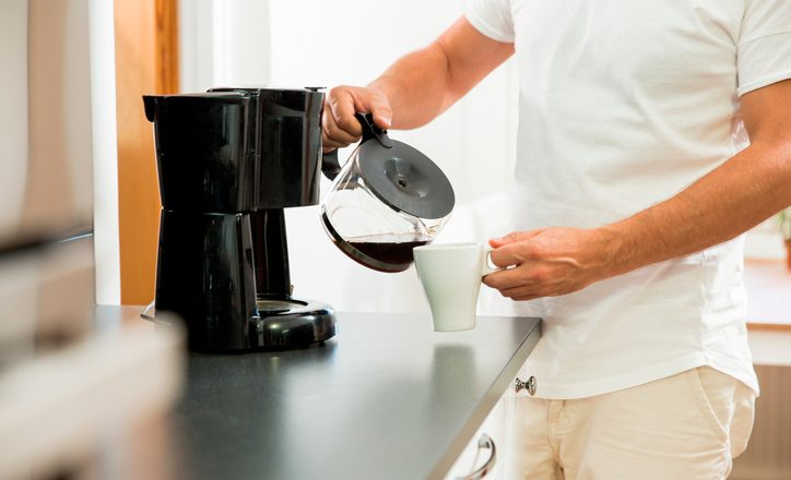 pouring coffee more space place