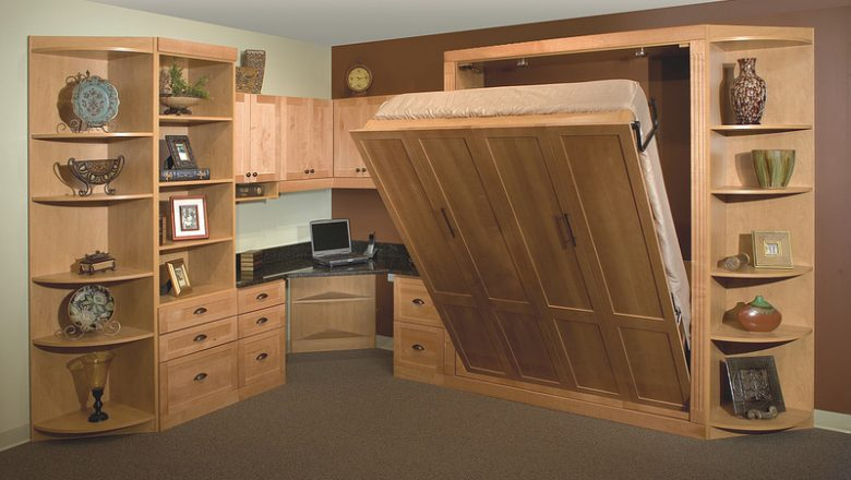 Murphy Bed With Desk Home Office More Space Place