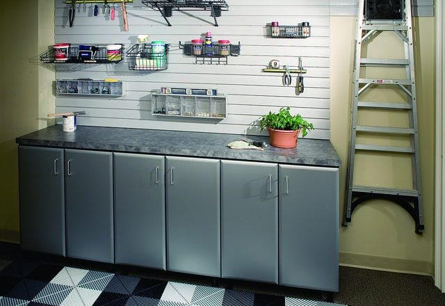 custom garage cabinets for gardening