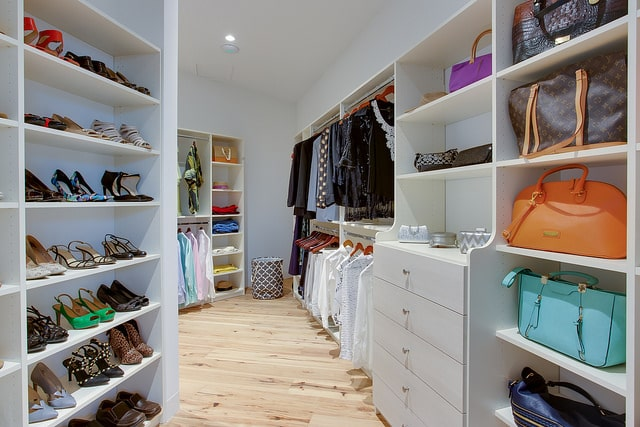 Organized Accessories - Walk-in Closet - More Space Place